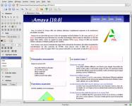 Screenshot programu Amaya 11.4.4