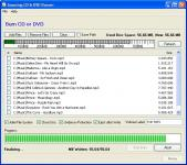 Screenshot programu Amazing CD & DVD Burner 1.6