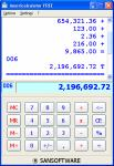 Screenshot programu Americalculator 9.0.268
