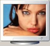 Screenshot programu Angelina Jolie Screensaver 1.0