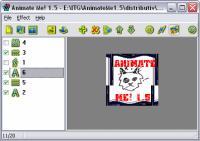 Screenshot programu Animate Me! 1.5