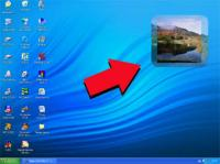 Screenshot programu Animated Desktop Slideshow 1.3.949