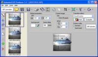 Screenshot programu Animated GIF producer 5.2