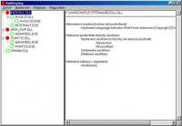 Screenshot programu AntiKeylogger 1.00
