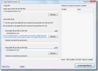 Screenshot programu App Starter Creator 1.3.8.54