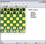 Screenshot programu Arasan Chess 18.2