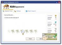 Screenshot programu Arovax AntiSpyware 2.1.153