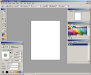 Screenshot programu Artweaver 0.5.5 Portable
