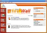 Screenshot programu Ashampoo FireWall 1.20