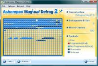 Screenshot programu Ashampoo Magical Defrag 2.34