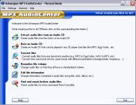 Screenshot programu Ashampoo MP3 AudioCenter 1.70