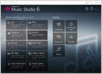 Screenshot programu Ashampoo Music Studio 6.0.2