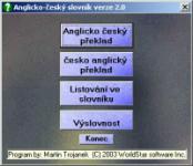 Screenshot programu Aslovník 2.0