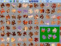 Screenshot programu Astra Jigsaw Art 1.11