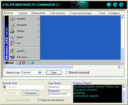 Screenshot programu Atelier Web Remote Commander 10.5.0