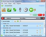 Screenshot programu AthTek Skype Recorder 5.8.0.0
