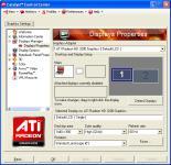 Screenshot programu AMD Catalyst 13.1 XP