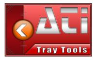 Screenshot programu ATI Tray Tools 1.6.9.1433