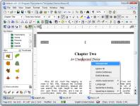 Screenshot programu Atlantis Word Processor 1.6.6.4