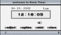 Screenshot programu Atom Timer 2.88