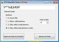 Screenshot programu ATPassGen 1.0 Free