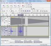 Screenshot programu Audacity 2.1.1