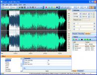 Screenshot programu Audio Editor Pro 2.91