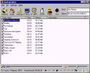 Screenshot programu Audiograbber SE 1.83