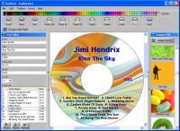 Screenshot programu AudioLabel CD DVD Labeler 4.40