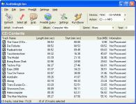 Screenshot programu AudioMagician CD Ripper 1.62