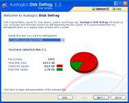Screenshot programu Auslogics Disk Defrag 7.1.1.0