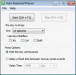 Screenshot programu Auto Keyboard Presser 2.1.0.6