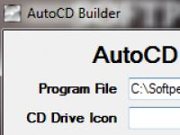 Screenshot programu AutoCD Builder 1.0.0.0