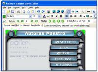Screenshot programu Autorun Maestro 8.1.0.0