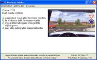 Screenshot programu Autoškola  3.01
