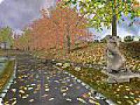 Screenshot programu Autumn Time 3D Screensaver 1.0