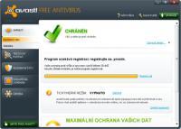 Screenshot programu avast! Pro Antivirus 7.0.1474