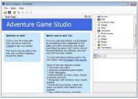 Screenshot programu Adventure Game Studio 3.2.1