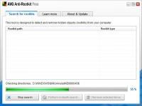 Screenshot programu AVG Anti-Rootkit Free 1.1.0.42