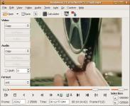 Screenshot programu Avidemux 2.6.10