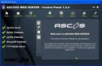 Screenshot programu AWS - ASCOOS Web Server  01031400