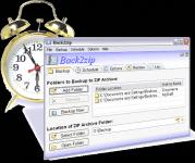 Screenshot programu Back2zip 125.130a