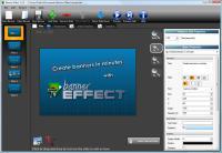 Screenshot programu Banner Effect 1.3.9