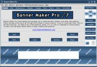 Screenshot programu Banner Maker Pro 9.0.0B