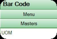 Screenshot programu Bar Code 1.0.0