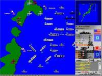 Screenshot programu BattleFleet Pacific War 1.34