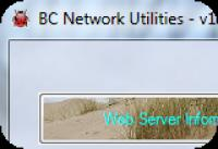 Screenshot programu BC Network Utilities 1.1