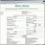 Screenshot programu Belarc Advisor 8.5.2.0