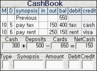 Screenshot programu Best Cashbook 4.37