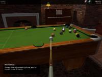Screenshot programu Billiard simulator